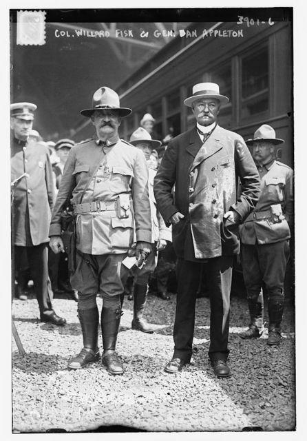 Col. Willard Fisk & Gen. Dan Appleton