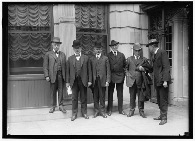 COMMISSION ON INDUSTRIAL RELATIONS: LENNON; WALSH; O'CONNELL; WEINSTOCK; R.H. AISHTON; GARRETSON, AT SHOREHAM HOTEL
