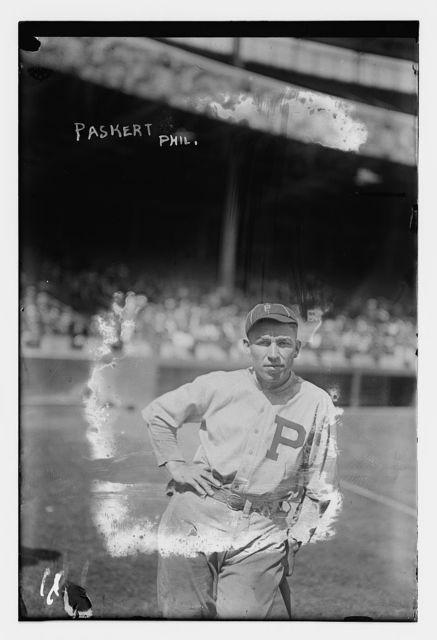 [Dode Paskert, Philadelphia NL (baseball)]