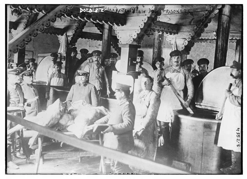 Doeberitz - making stew for prisoners