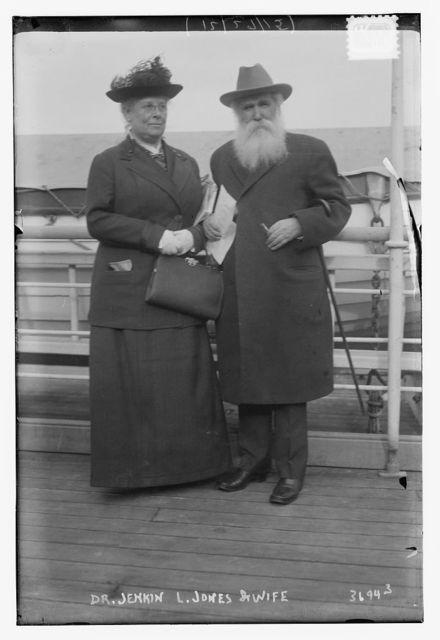 Dr. Jenkin L. Jones and wife