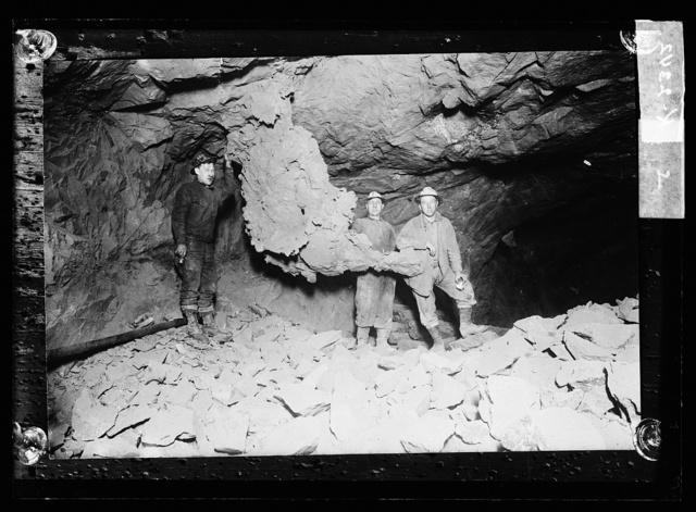 [Drilling underground]