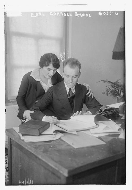 Earl Carroll & wife