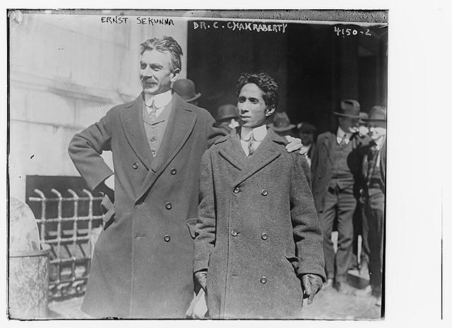 Ernst Sekunna & Chandra Charkraberty