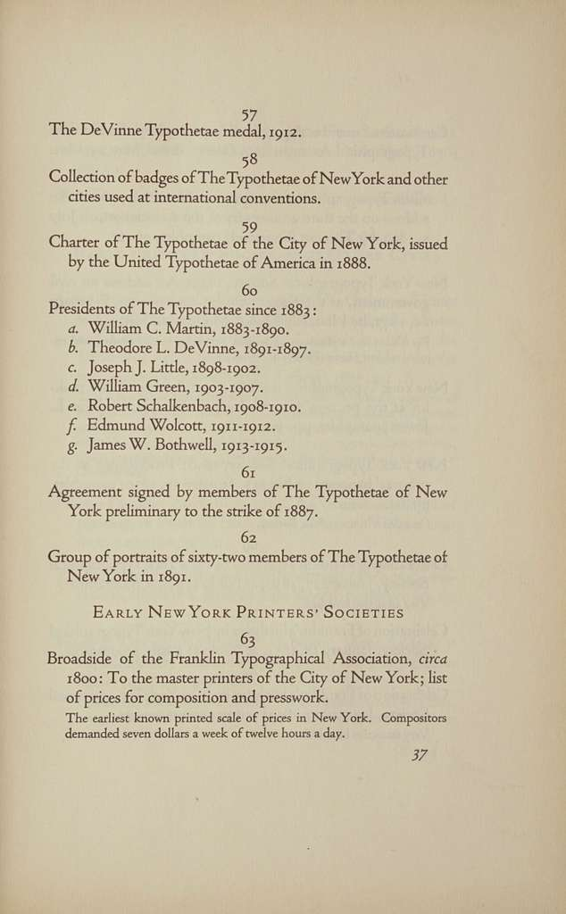 Fifty years of the Typothetae of the city of New York