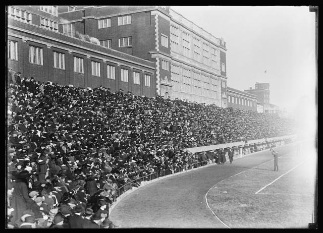 [Football game, Central High School, Washington, D.C.]