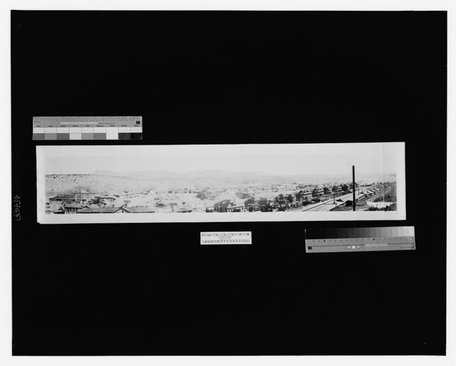 Fort Bayard, New Mexico, Alt. 6132; U.S. Public Health Service Hospital no. 55; Colonel H. E. Whitledge, Medical Officer in Charge