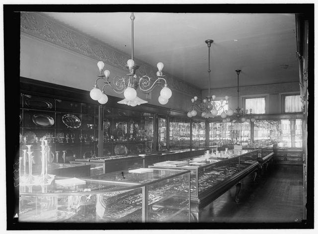 GALT, MRS. EDITH BOLLING. M. WOODROW WILSON, DEC. 18, 1915. HER JEWELRY STORE, 'GALT & BRO'
