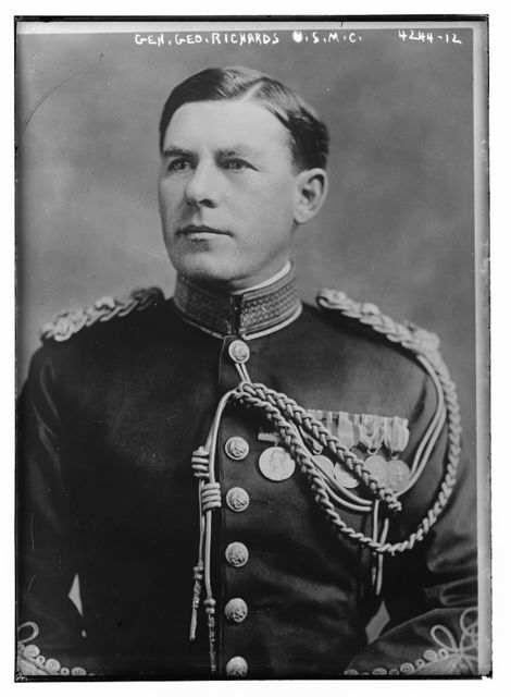 Gen. Geo. Richards, U.S.M.C.