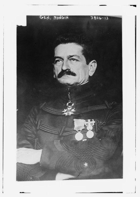 Gen. Mangin
