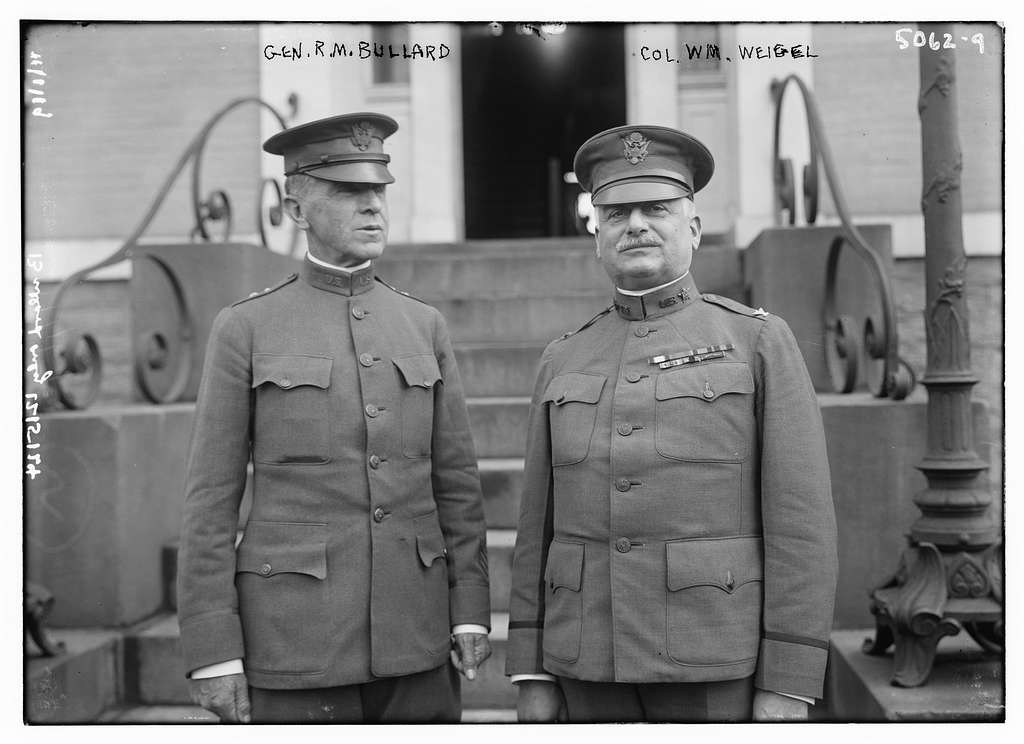 Gen. R.M. Bullard & Col. Wm Weigel