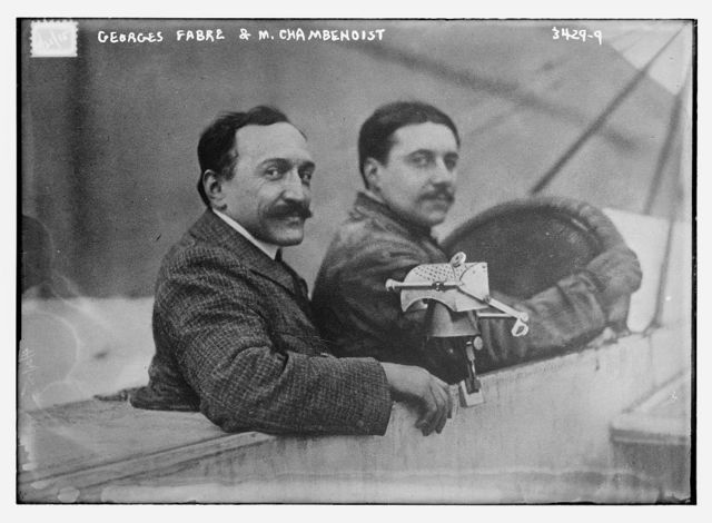Georges Fabre & M. Chambenoist