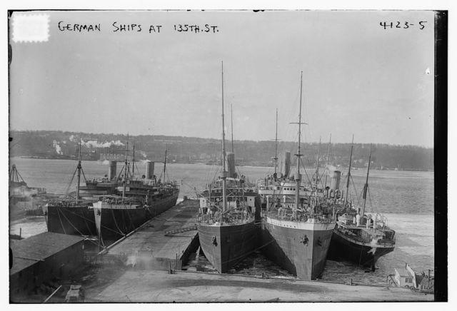 German Ships at 135th St.