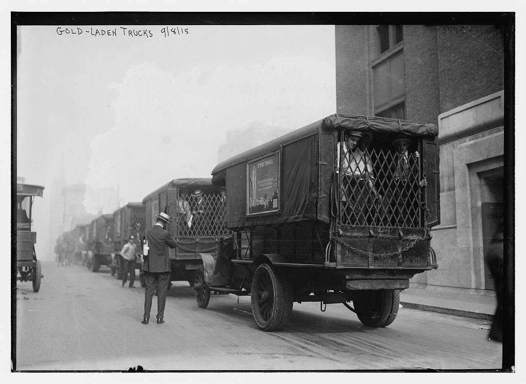 Gold-laden trucks, 9/8/15