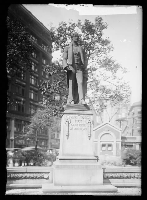 [Gov. Mason statue]