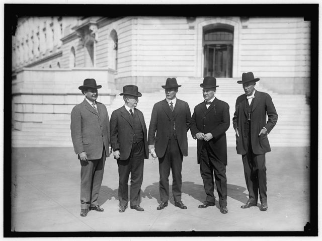 GOVERNORS OF STATES. FIVE COTTON STATES. GOVERNORS TRAMMELL OF FLORIDA; O'NEAL OF ALABAMA; SLAYTON OF GEORGIA; L.E. HALL OF LOUISIANA; CRUCE OF OKLAHOMA
