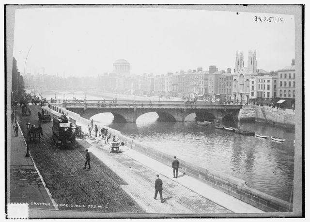 Grattan Bridge, Dublin, 753 W.L.