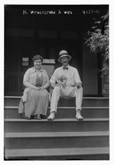 H. Witherspoon & wife