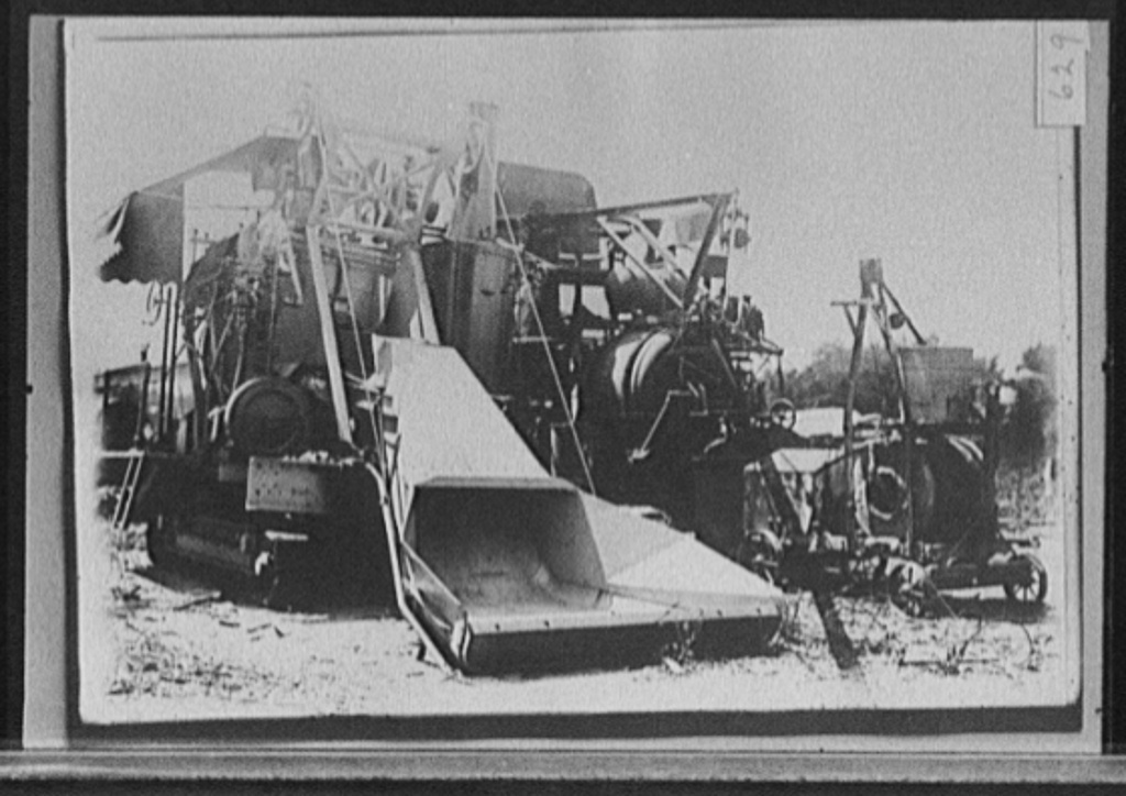 [Highway construction equipment, probably Michigan State Highway Dept., Michigan]