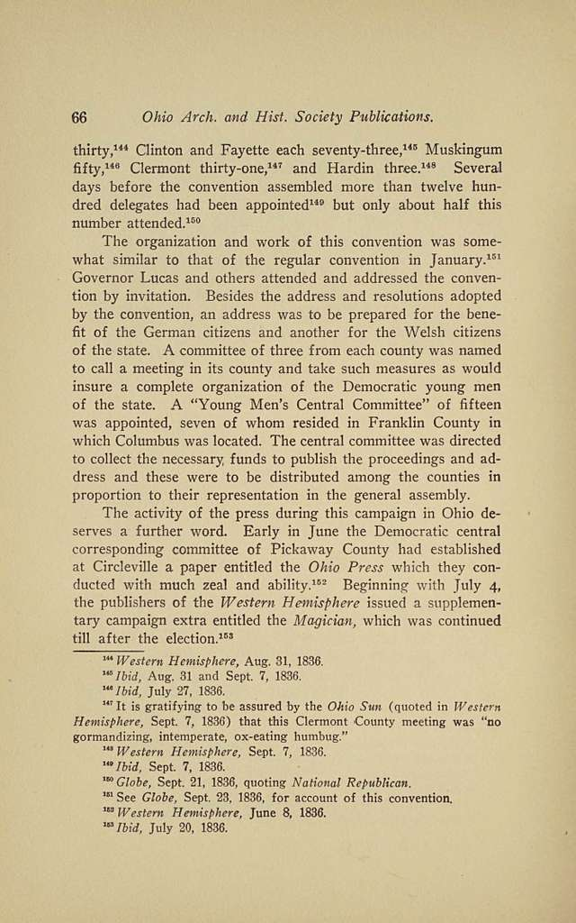 History of the Democratic party organization in the Northwest, 1824-1840
