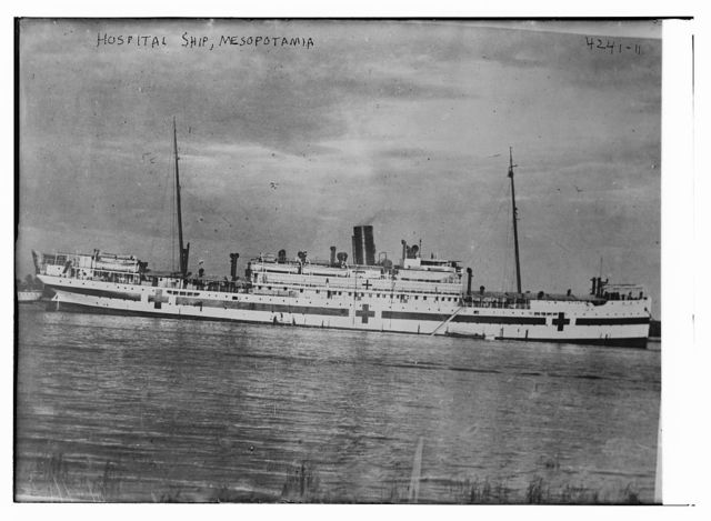 Hospital ship, Mesopotamia