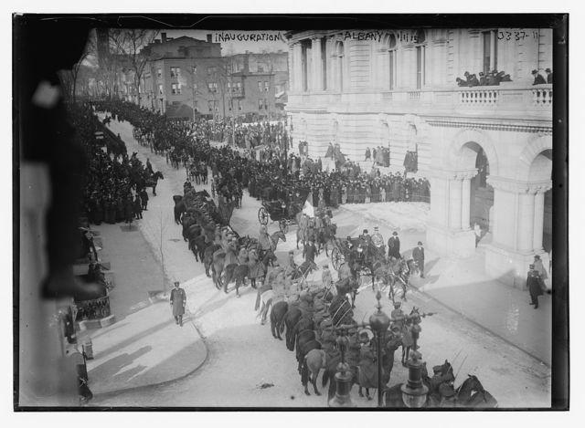 Inauguration, Albany, 1/1/15