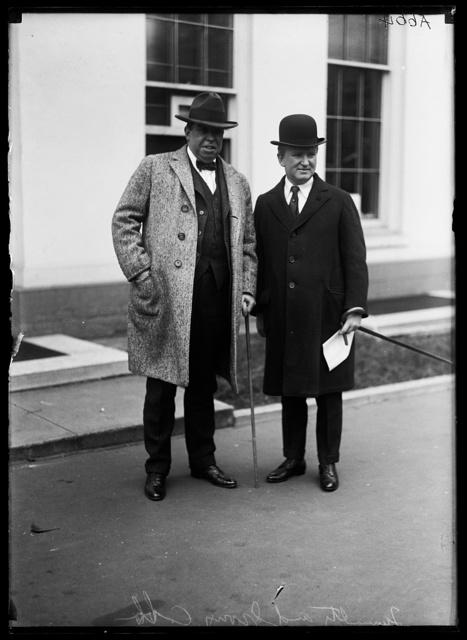 [Irvin S. Cobb and Joseph Tumulty. White House, Washington, D.C.]