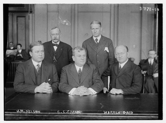 J.M. Nelson; C.C. Carlin; Warren Gard