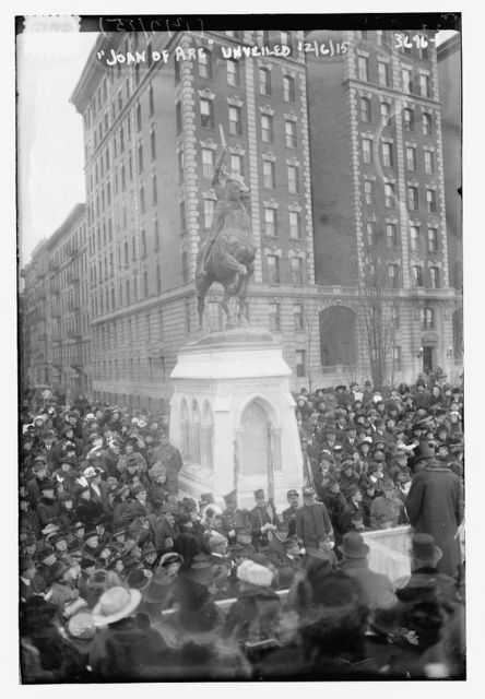 JOAN OF ARC Unveiled, 12/15, [Monument]