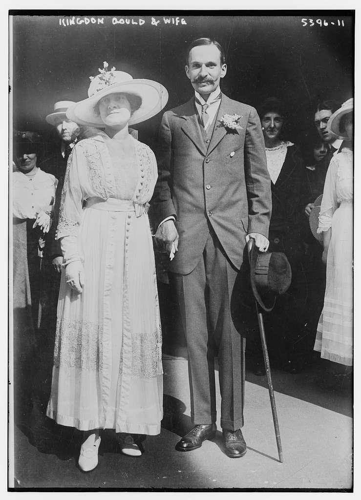 Kingdon Gould & wife