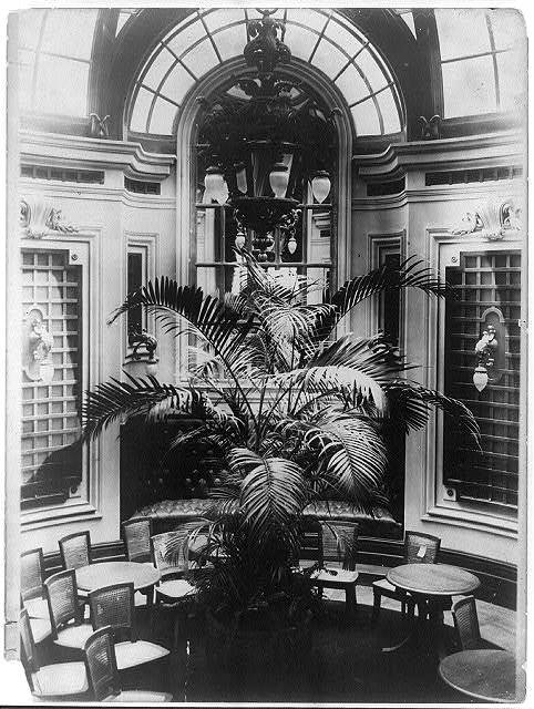 Lounge of the New York Yacht Club