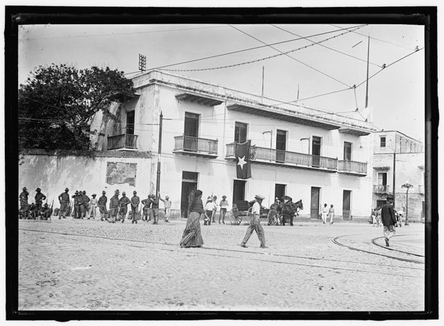 MAAS, GENERAL, OF MEXICO. HIS HOME IN VERA CRUZ