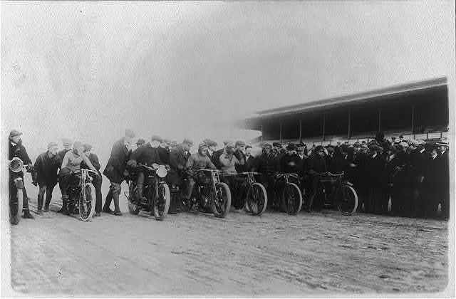 Motorcycle race at Laurel, Maryland