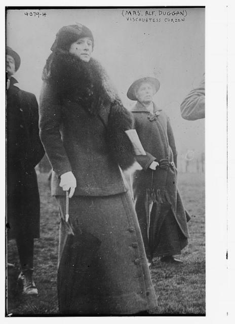(Mrs. Alfred Duggan), Viscountess Curzon