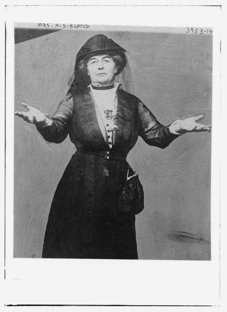 Mrs. H.S. Blatch