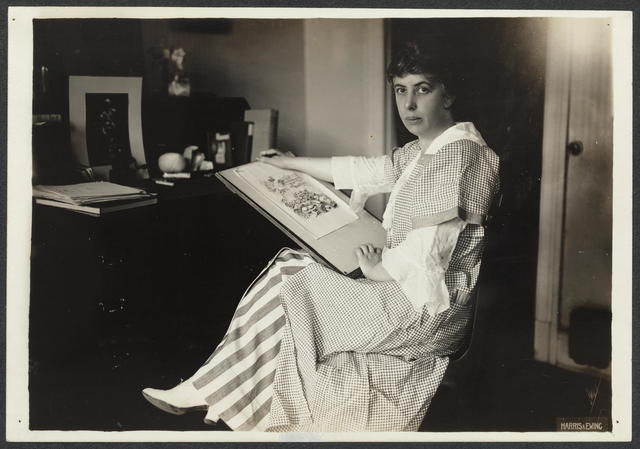 Mrs. Nina E. Allender, Cartoonist, Nat[ional] Woman's P[ar]ty
