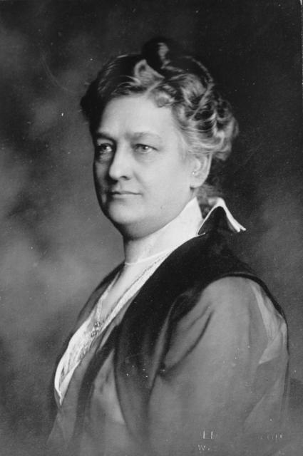 Mrs. Oscar F. Davisson of Dayton, Ohio, is one of the most recent members of the Advisory Council of the Congressional Union for Woman Suffrage.  Mrs. Davisson is President of the Dayton and Montgomery County Woman Suffrage Association and is a member of the Executive Committee of the Ohio State Woman Suffrage Association.