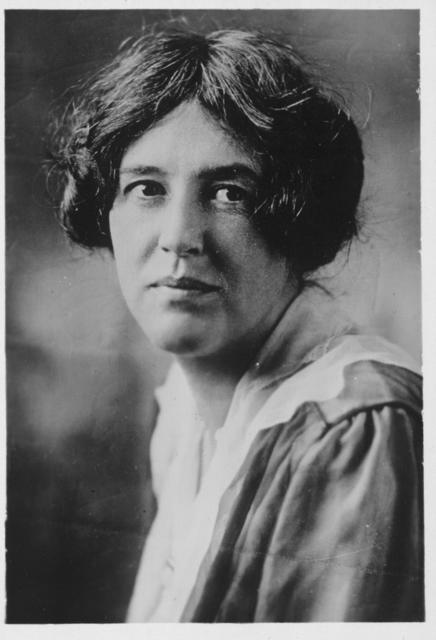 Mrs. Sara Bard Field, of San Francisco, is one of the most eloquent and gifted speakers of the Congressional Union for Woman Suffrage and the National Woman's Party.  She is a kinswoman of Eugene Field, the well known poet.
