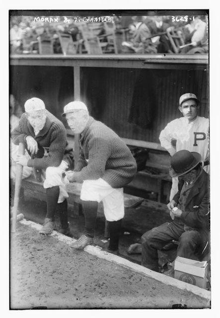 [Pat Moran, manager, & Grover Cleveland Alexander, Philadelphia NL (baseball)]