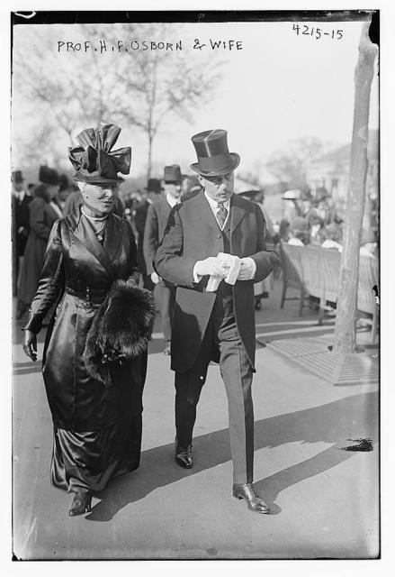 Prof. H.F. Osborn & wife