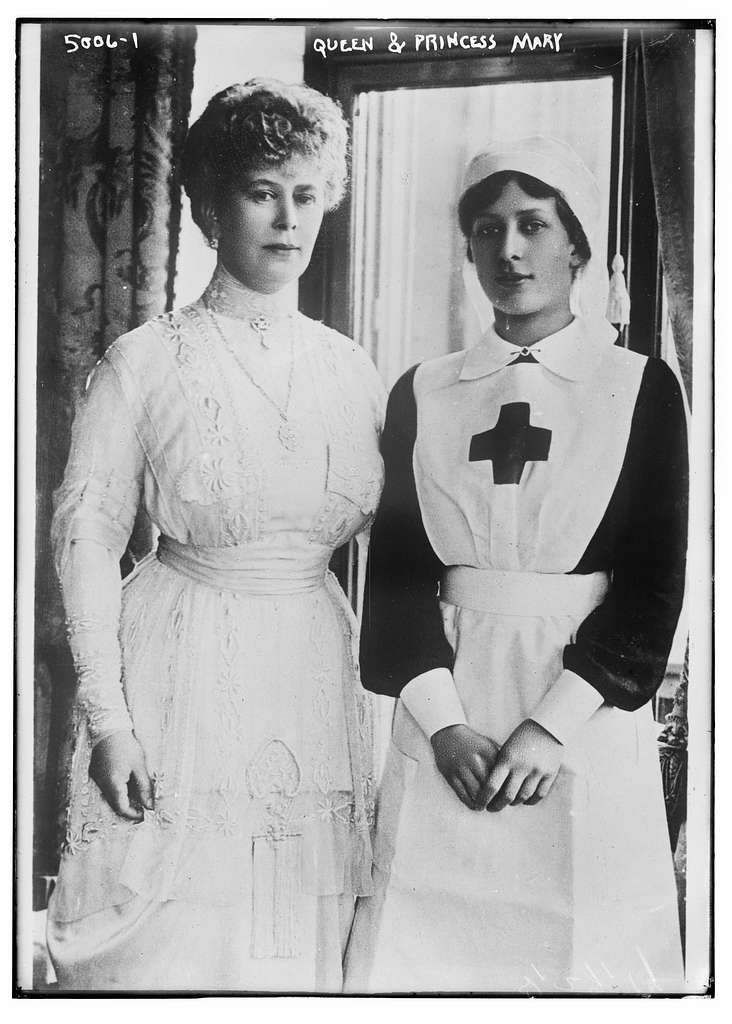 Queen & Princess Mary