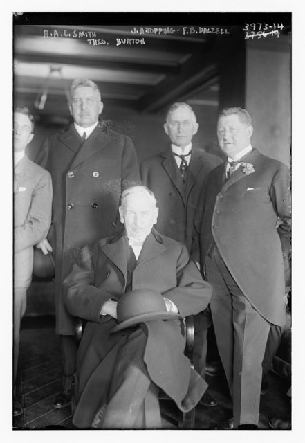 R.A.C. Smith, J.A. Topping, F.B. Dalzell, Theo. Burton