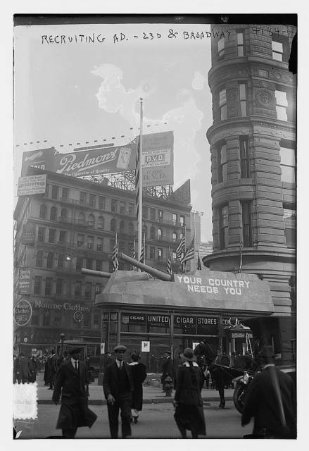 Recruiting ad. -- 23d & Broadway, [N.Y.]