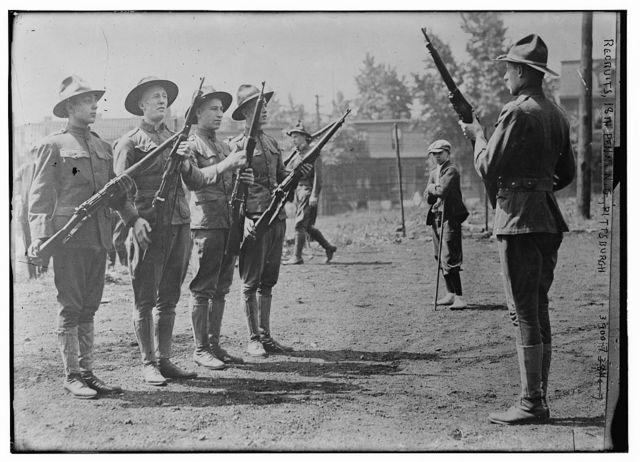 Recruits, 18th Penn. N.G., Pittsburgh