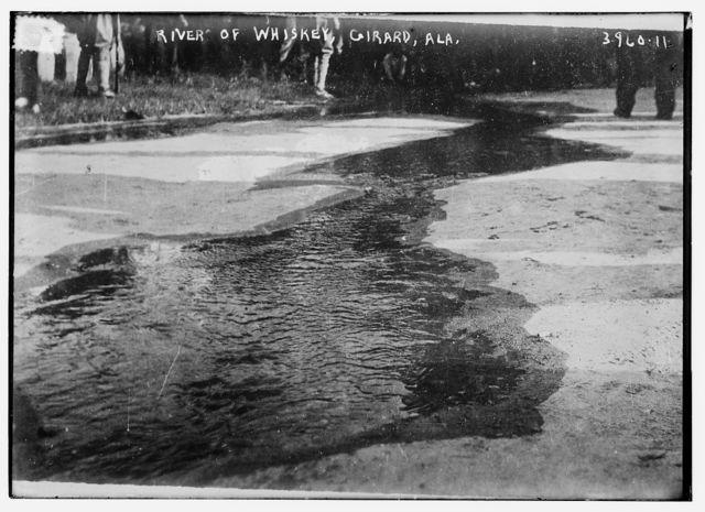 River of whiskey, Girard, Ala.