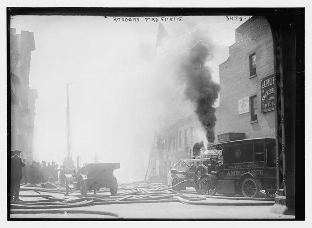 Rogers fire, 5/15/15