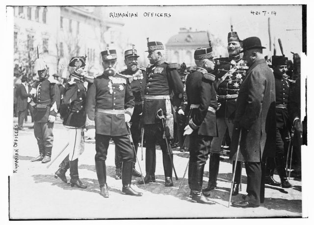 Rumanian Officers