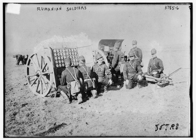Rumanian soldiers