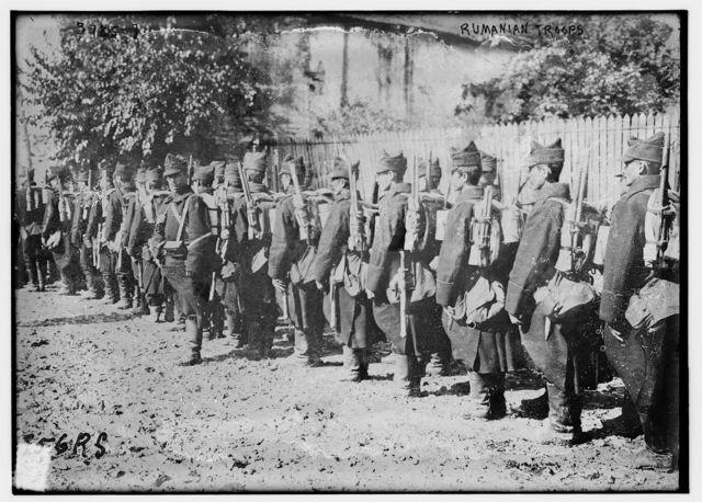 Rumanian troops