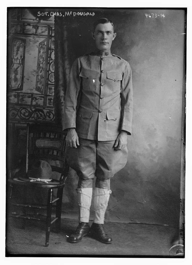 Sgt. Chas. McDougald